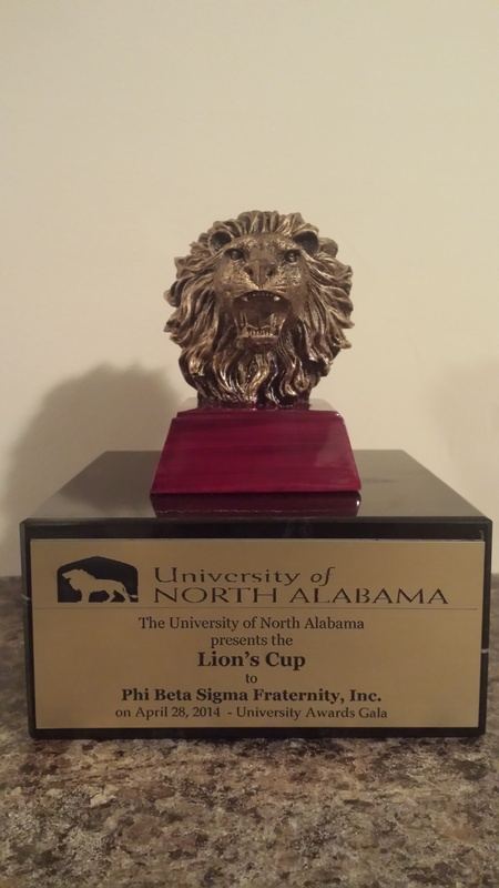 2014 UNA Lions Cup to Phi Beta Sigma
